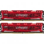 Ballistix Sport LT 16GB Kit DDR4 8GBx2 2400 MT/s DIMM 288pin red