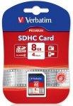 Verbatim SDHC Card 8GB Class 10