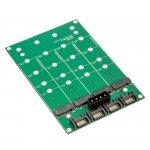 Delock - adapter z 4x M.2 SSD na 4x SATA
