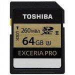 Toshiba SDXC Card Class 10 64GB Exceria PRO UHS II U3