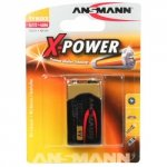 1 Ansmann Alkaline 9V-Block X-Power