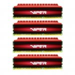Patriot 32 GB DDR4-2400 Quad-Kit, PV432G240C5QK, Viper 4
