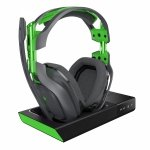 HSE Astro Gaming A50 Wireless Dolby 7.1 Headset, czarny - zielony + wireless MixAmp (do XBox One, PC, MAC)