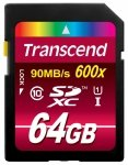 Transcend SD Card  SDXC 64GB Class 10 / UHS-I