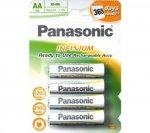 Panasonic Rechargeable EVOLTA P6E/4BC AA (Mignon), 4 szt.
