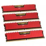 Corsair Vengeance LPX Red DDR4-2666 - CL16 - 16 GB