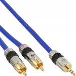 Kabel InLine 2x Cinch na Mini-Jack 3.5mm - 0.5m