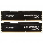 Kingston HyperX DIMM 16 GB DDR3-1866 Kit HX318C10FBK2/16, Fury-Serie