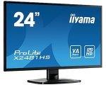 IIYAMA 23,6'' X2481HS-B1   16:9  DVI+HDMI bl. Spk.