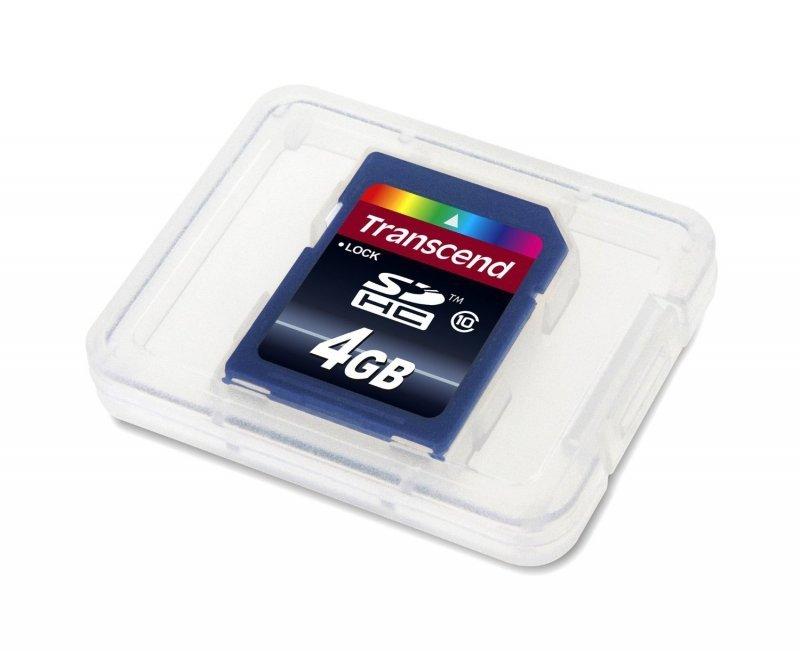 Micro Sd Karte 4gb.Transcend Sd Karte Sdhc 4gb Class 10 Karty Sd I Micro Sd