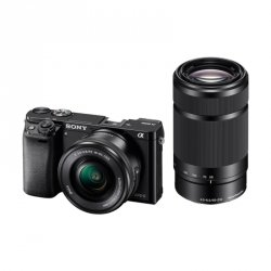 Sony Alpha 6000 Kit black + SEL-P 16-50 + SEL 55-210
