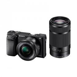 Sony Alpha 6000 Kit black + SEL-P 16-50 + SEL 55-210