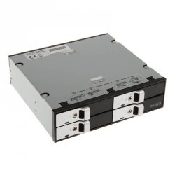 Kieszeń Akasa Elite 5,25 - 4x dyski 2,5 HDD/SSD