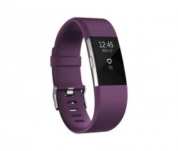 Fitbit Charge 2 small plum/silver