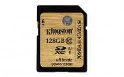 Kingston SD SDXC Card UHS-I 128 GB Class 10