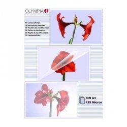 1x50 Olympia Laminierfolien DIN A 3 125 micron          9175