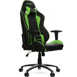 AKRACING Nitro Gaming Chair AK-NITRO-GN czarny / zielony