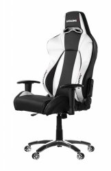 AKRACING Premium V2 Gaming Chair AK-7002-BS czarny / srebrny