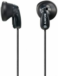 Sony MDR-E 9 LPB czarny-transparent