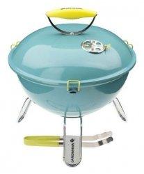 Landmann Grill węglowy kulisty PICCOLINO (turkusowy)