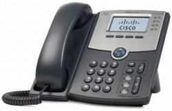 Cisco SPA504G VoIP PoE 4Ltg. Bksl
