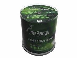 MediaRange DVD+R 4,7 GB 16x, 100 szt.