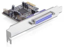 DeLOCK Multi I/O-Karte PCIe 2S+1P