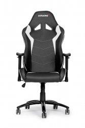 AKRACING Octane Gaming Chair AK-OCTANE-WT czarny / biały