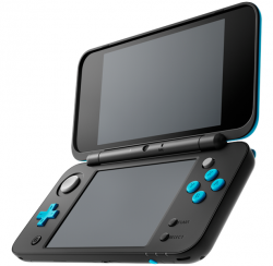 Nintendo New 2DS XL czarny + turkus