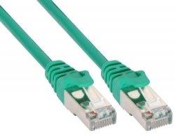 InLine 10m Kabel krosowy 100 Mbit RJ45 - zielony