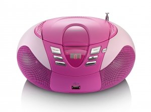 Lenco SCD-37 USB pink