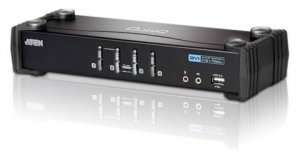 ATEN KVM-Switch USB DVI CS1764, Sound