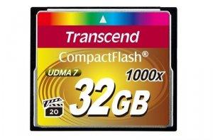 Transcend Compact Flash 32GB 1000x