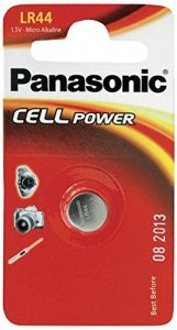 Panasonic Alkaline PowerCells LR44L/1B