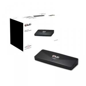 Club3D SenseVision CSV-3103D R USB 3.0 4K Docking Station