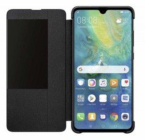 Huawei Mate 20 Smart Flip View Cover Black