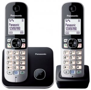 Panasonic KX-TG6812GB black