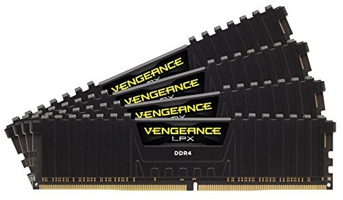 Corsair  32GB DDR4-3466 Quad-Kit, czarny, CMK32GX4M4B3466C16, Vengeance LPX