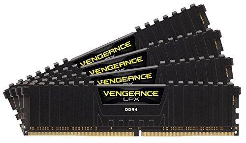 Corsair  32GB DDR4-3466 Quad-Kit, czarny, CMK32GX4M4B3466C16, Vengeance LPX
