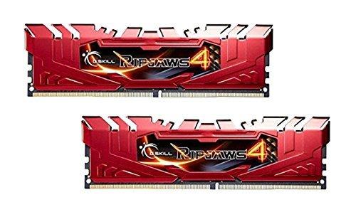 G.Skill 8GB DDR4-2800 Kit, czerwony F4-2800C16D-8GRR, Ripjaws 4