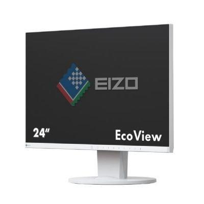 EIZO FlexScan EV2450-WT, biały, DisplayPort, HDMI, DVI-D, USB 3.0, Pivot