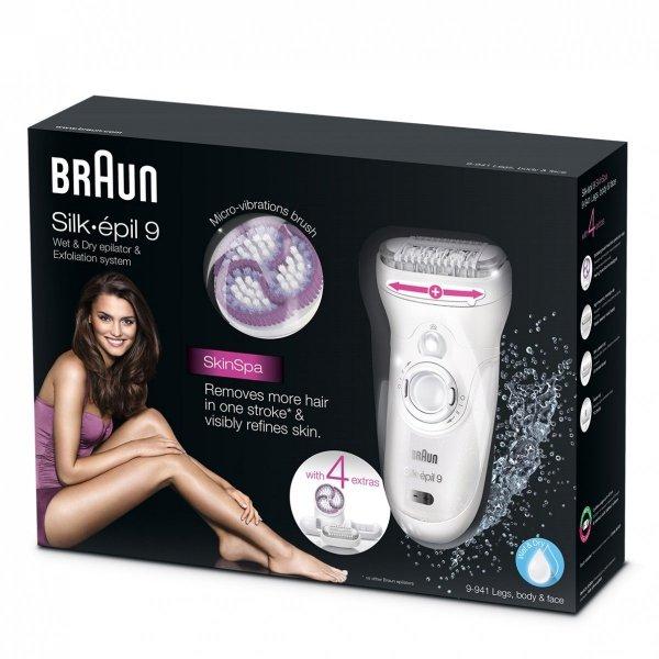 Braun Silk-epil 9-941 Skin Spa wet&dry