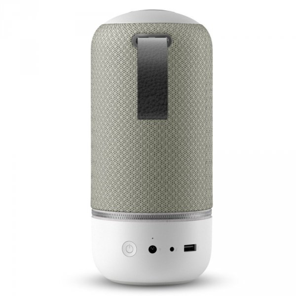 Libratone Zipp Mini (Cloudy Grey) - Wireless-(Bluetooth 4.0 aptX, Multiroom, SoundSpaces, AirPlay, WiFi, DLNA)