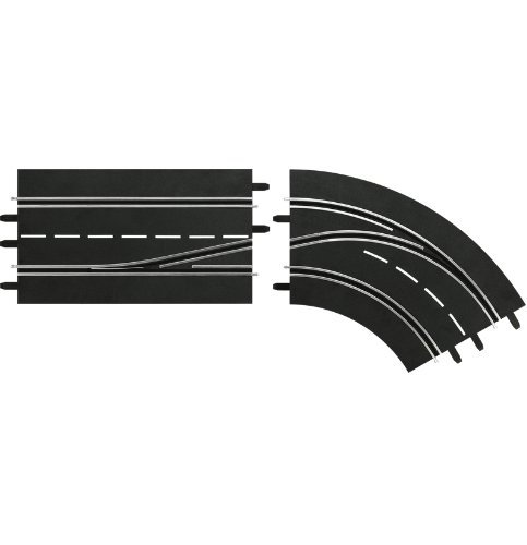 Carrera Digital 132 Lane Change Curve - right, in to out 30364