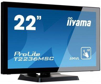 IIYAMA 21,5'' T2236MSC-B2  16:9  M-Touch DVI+HDMI
