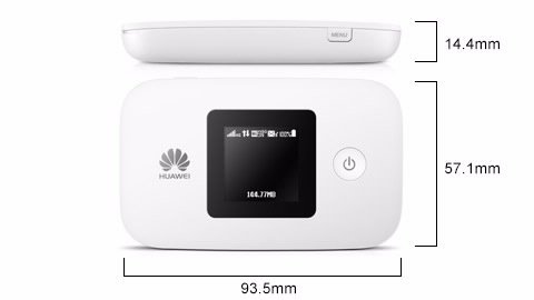 Huawei E5377  WIR-Hotspot   150.0Mbit LTE   biały   10 User