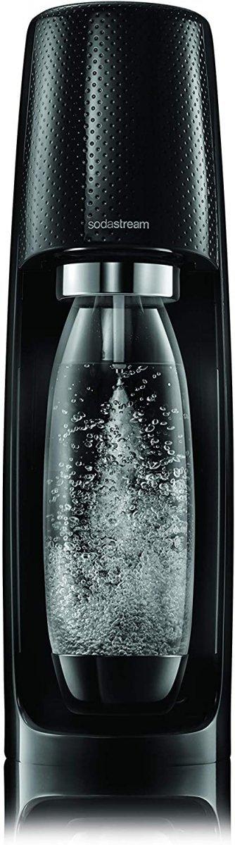ZESTAW Sodastream Spirit MEGA PACK Black + 3 BUTELKI