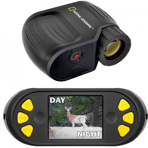 National Geographic 3x25 Night vision device noktowizor LCD