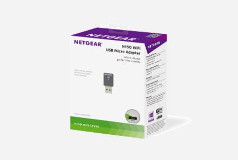 Netgear N150 WNA1000M Karta mikro WiFi USB