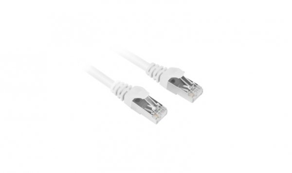 Sharkoon RJ45 CAT.6 SFTP biały 0,25m